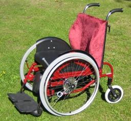 yksilöllinen pyörätuoli